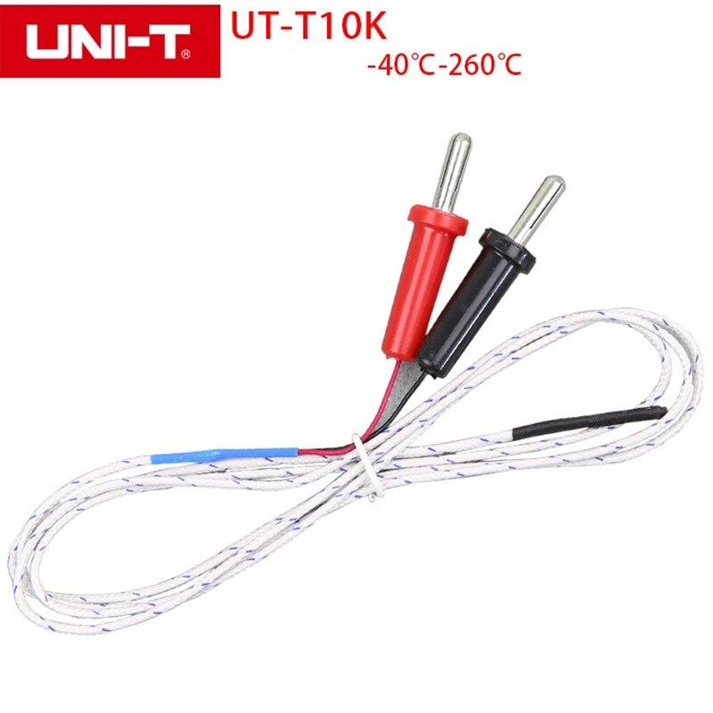 UNI-T UT-T10K Thermocouple Insertion Type Input Gel Temperature Measurement for UT33C UT202 UT213B UT213C UT216C UT61B / C UT804