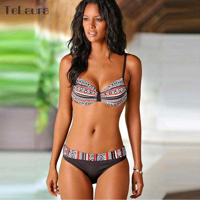 2018 New Sexy Bikini Women Swimwear Push Up Swimsuit Bathing Suit Plus Size Swimwear Biquinis Summer Beach Wear Swim Suit Female
