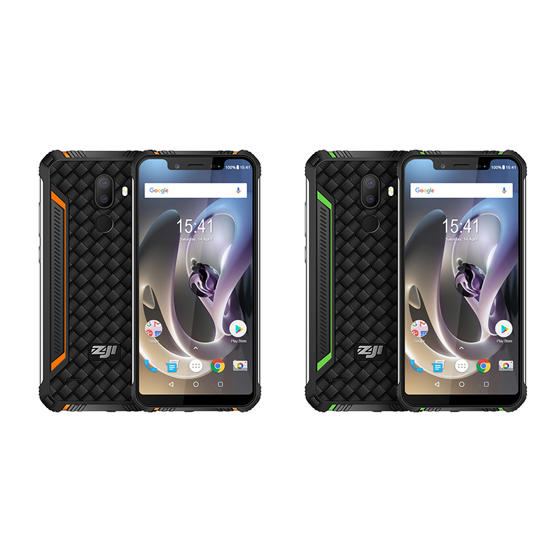 """Image 3 - ZJI Z33 IP68 Waterproof Phone 4600mAh 3GB 32GB 5.85"""" Smartphone Android 8.1 MTK6739 Face ID 4G FDD LTE ZOJI HOMTOM MobilePhone-in Cellphones from Cellphones & Telecommunications"""