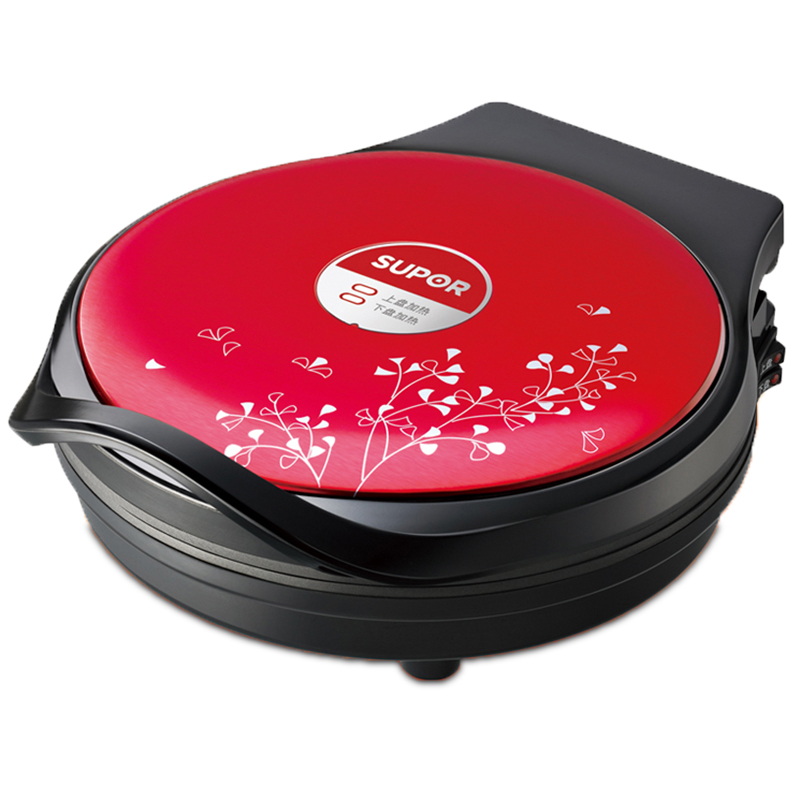 Free shipping Suspension of double side heating electric baking pan frying  Crepe Makers Pancake Maker