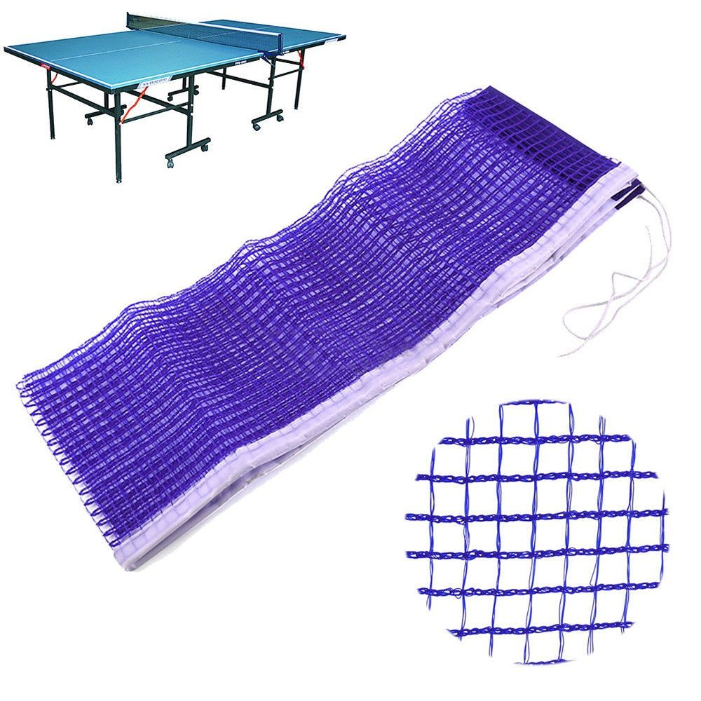 Blue Nylon Net Durable Table Tennis Ping Pong Net Replacement Mesh Sports Training 172 CM Racquet Sports