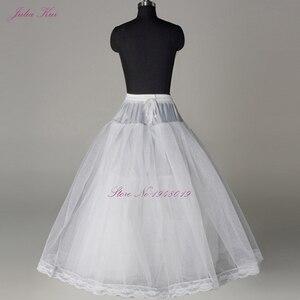 Image 3 - Julia Kui 3& 6 Hoops Crinoline  A Line Wedding Petticoat Picture White Color