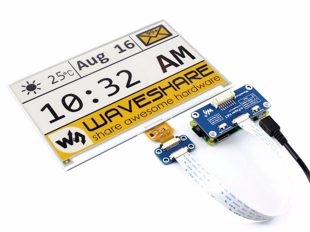 Waveshare 1.54 POLLICI E-Carta di visualizzazione del pannello modulo KIT 3.3v E-Ink elettronico per