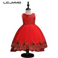 LCJMMO Blumenmädchen Kleid Rot Mesh Hinter Schmetterling Mädchen Brautjungfer Hochzeit Kleid Kinder Ballkleid Bestickte Bogen Party Kleid