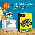 Новинка 2019! Keyestudio EASY PLUG RJ11 супер стартовый обучающий комплект для Arduino STEM EDU/совместимый с Mixly блочным кодированием