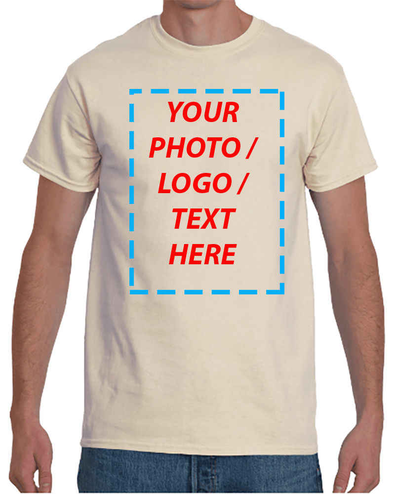 73ff37a86 Custom Your Photo Logo Text Image Personalized Summer Fashion T Shirts  Printed Your Own Design Casuals