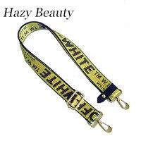 Hazy Beauty 2017 New Fabric Women Handbag Character Off White Bag Strap Super Chic Lady New