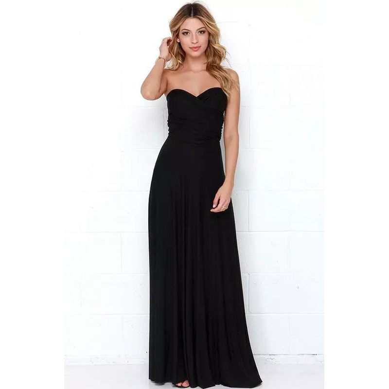1655af03225 2017 Chiffon Women Summer Maxi Dresses Casual Vestidos De Festa Sexy  Backless Evening Party Long Dress D094-in Dresses from Women s Clothing on  ...