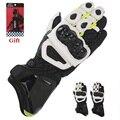 100% Original Genuine Leather Long Gloves Moto Style GP PRO Gloves Motorcylce Gloves Road Racing Real Cowhide Motorbike Gloves
