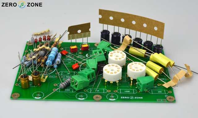 DIY E834 RIAA MM Tube Phono Stage Amplifier Kit Base On EAR834 Circuit (  Without Tube )