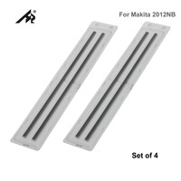 HZ 12 Wood HSS Reversible Planer knife blades 793346 8 For Makita 2012NB 2012 Double Edged Set of 4