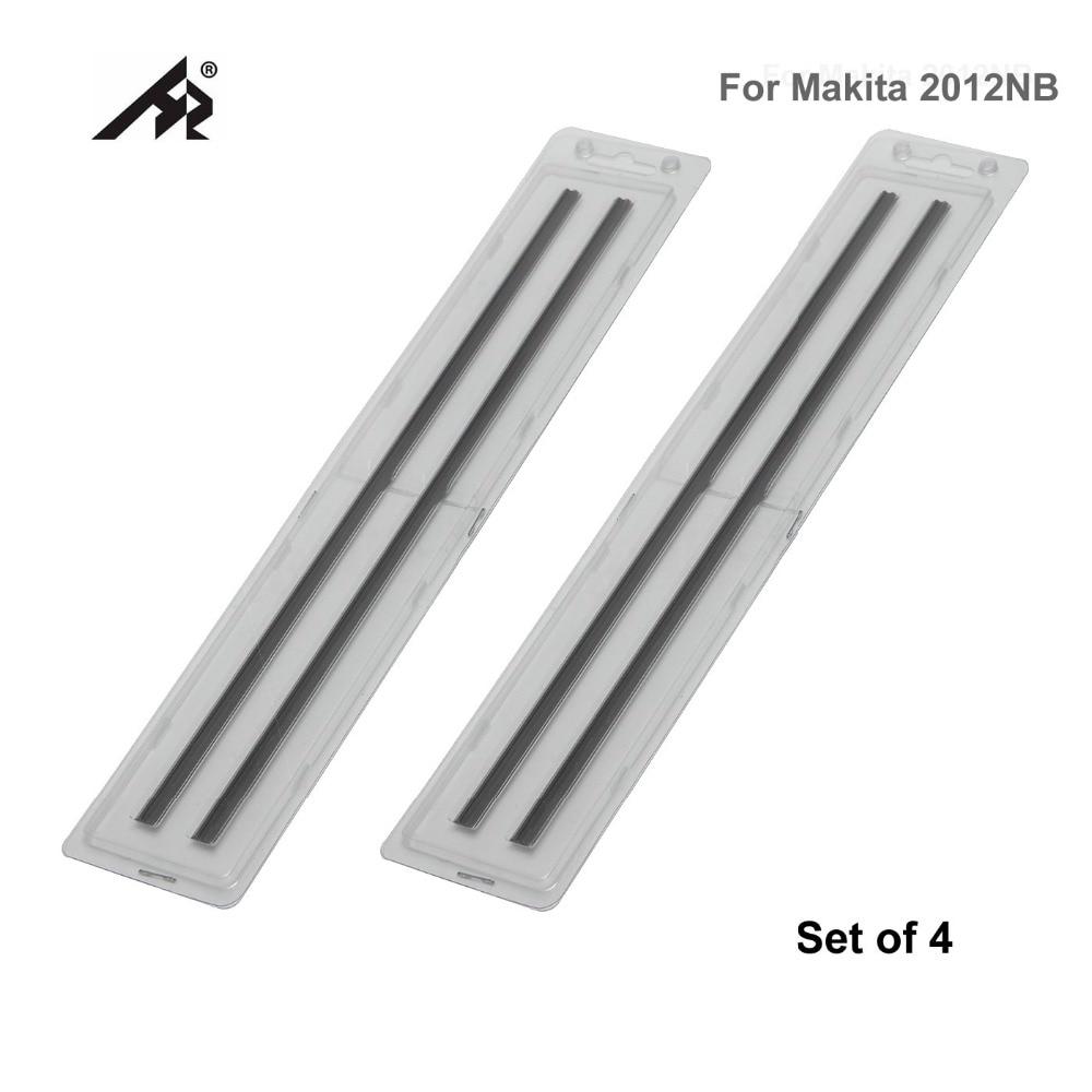 HZ 12 Wood HSS Reversible Planer Knife Blades 793346 8 For Makita 2012NB 2012 Double Edged