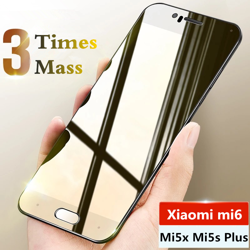 9H Tempered Glass For Xiaomi Mi 6 Mi 5x Mi 5s Plus Glass Screen Protector For Xiaomi Mi5X Mi6 Mi5S Plus Glass Protective Film
