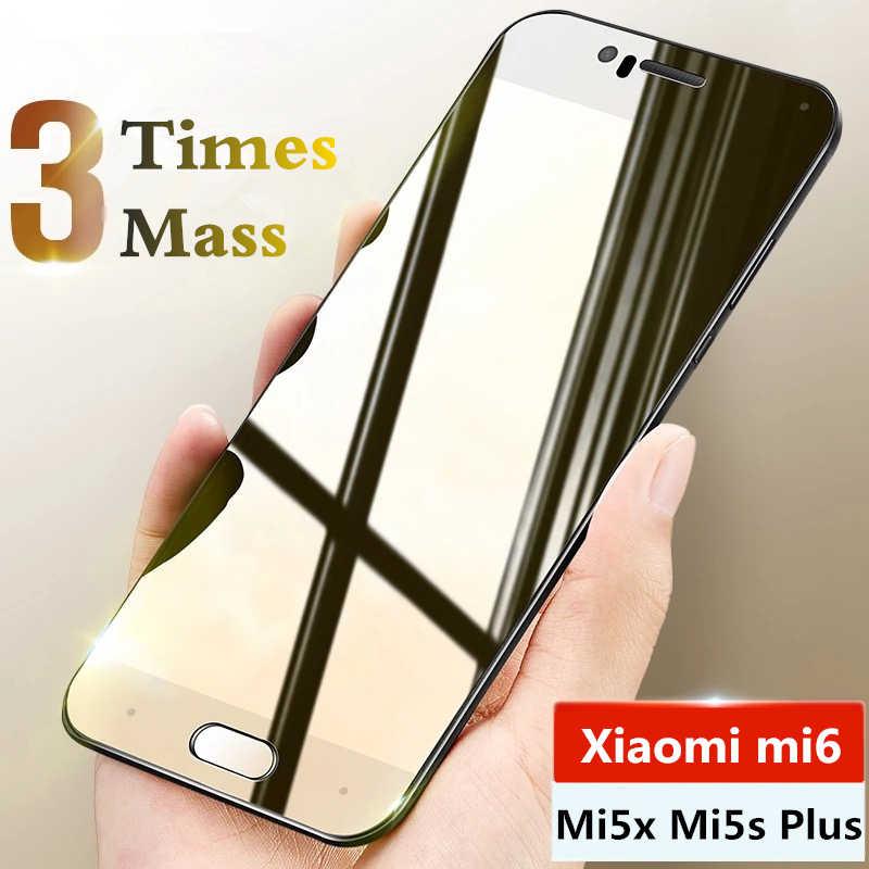 9H szkło hartowane dla Xiao mi mi 6 mi 5x mi 5S Plus szklany ochraniacz ekranu dla Xiao mi mi 5X mi 6 mi 5S plus folia ochronna