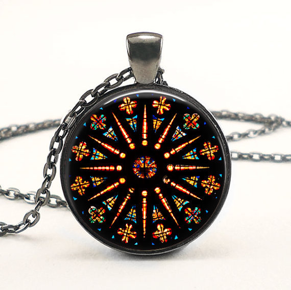 Vintage coloreful church stained glass pendants mandala necklace vintage coloreful church stained glass pendants mandala necklace jewelry power pendant statement necklaces for women gift aloadofball Gallery