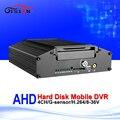 Super 4CH Video Input H.264 HDD AHD Dvr 720P Vehicle Video Recorder For AHD CCTV Camera HD Bus Taxi Mobile Dvr Max 2TB Hard Disk