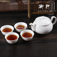 Hot Sale Gaiwan Teapot China Pot 5 pieces (1 Teapot + 4 Tea Cups) Kettle Yixing Kung Fu tea Set Handmade Ceramic Porcelain