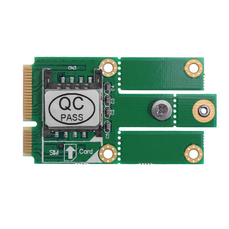 M.2 NGFF B Key NGFF m2 to Mini PCI-E Converter Adapter Card with SIM Card Slot ssd msata to b key m 2 ngff sata adapter converter adapter card board for laptop desktop