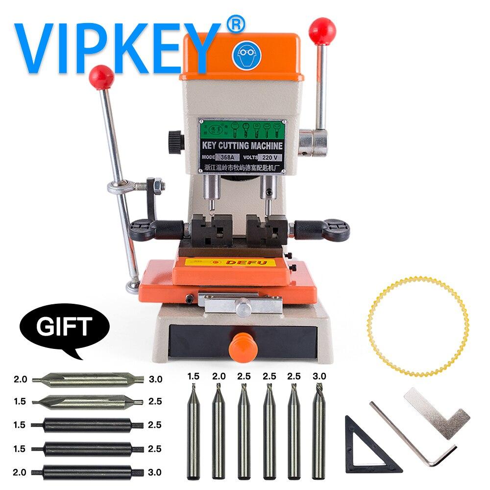 Defu 368A Vertical Key Cutting Machine 180w for 110V and 220V Key Duplicating Cutter Machine locksmith tools