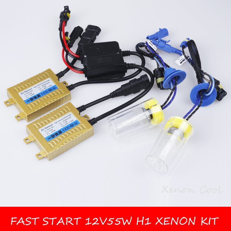 2018 New Auto Carro Fast Start For Car Ballast Hid Xenon H1 H3 <font><b>H7</b></font> H11 H8 H9 Hb3 Hb4 9005 9006 881 H27 9012/hir2 55w 4300k 6000k image