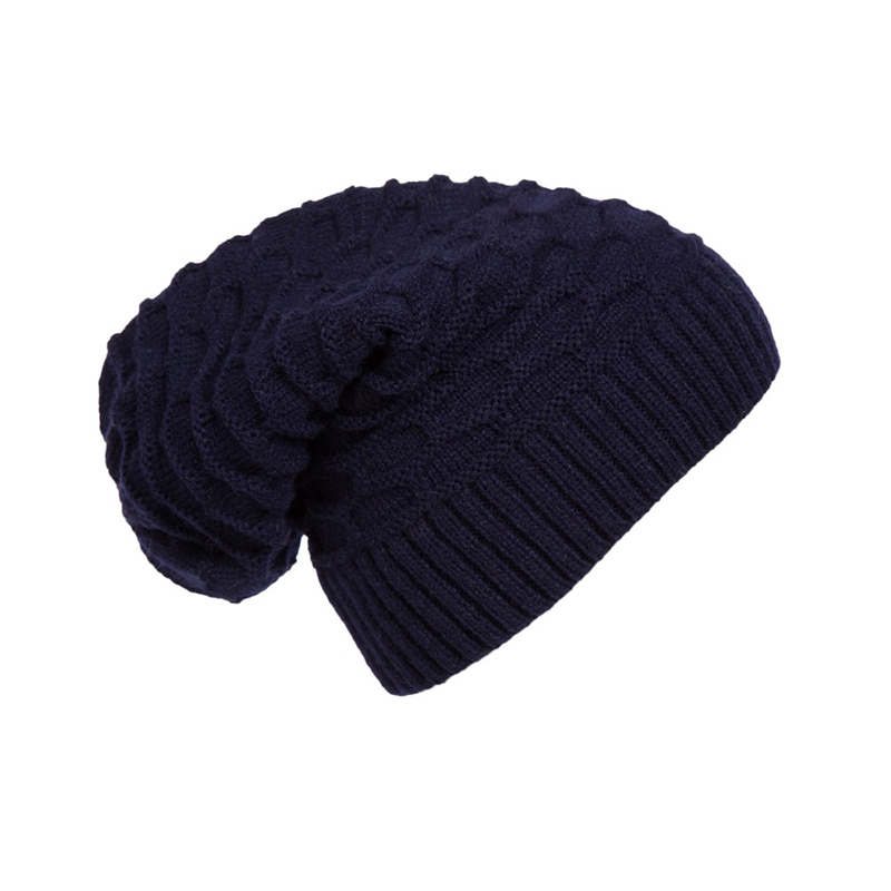 Winter Beanies Solid Color Hat Unisex Warm Soft Knit Cap Hat Knitted Touca Gorro Caps For Men Women Beanie Reversible Baggy Cap 2016 band beanies winter men knitted hat reversible beanie for new women unisex baggy warm skullies skull cap bonnets gorros