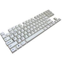 PBT Dye Sub Keycaps 87 Keyset Cherry MX Key Caps Top Print/Cherry Profile/ANSI Layout for TKL 87 MX Switches Mechanical Keyboard
