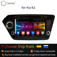 Ownice Android 6.0 Octa 8 Core 2GB RAM for Kia k2 RIO 2010 2015 car dvd player GPS Navi Support 4G LTE Network DAB+ DVR TPMS