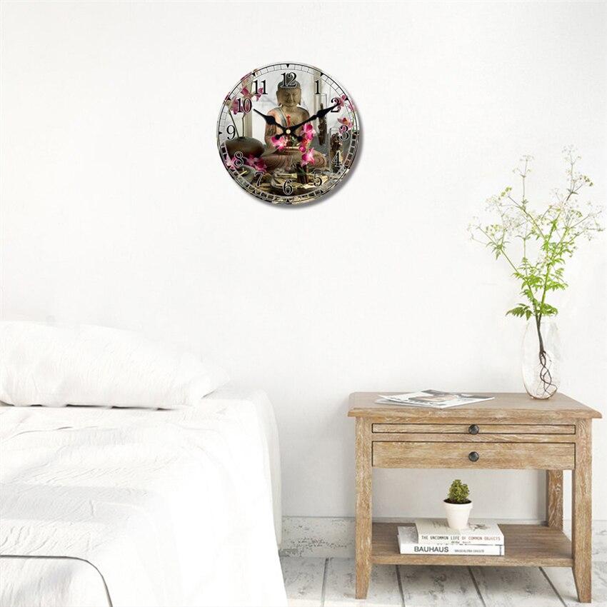 horloge bouddha pour chambre feng shui