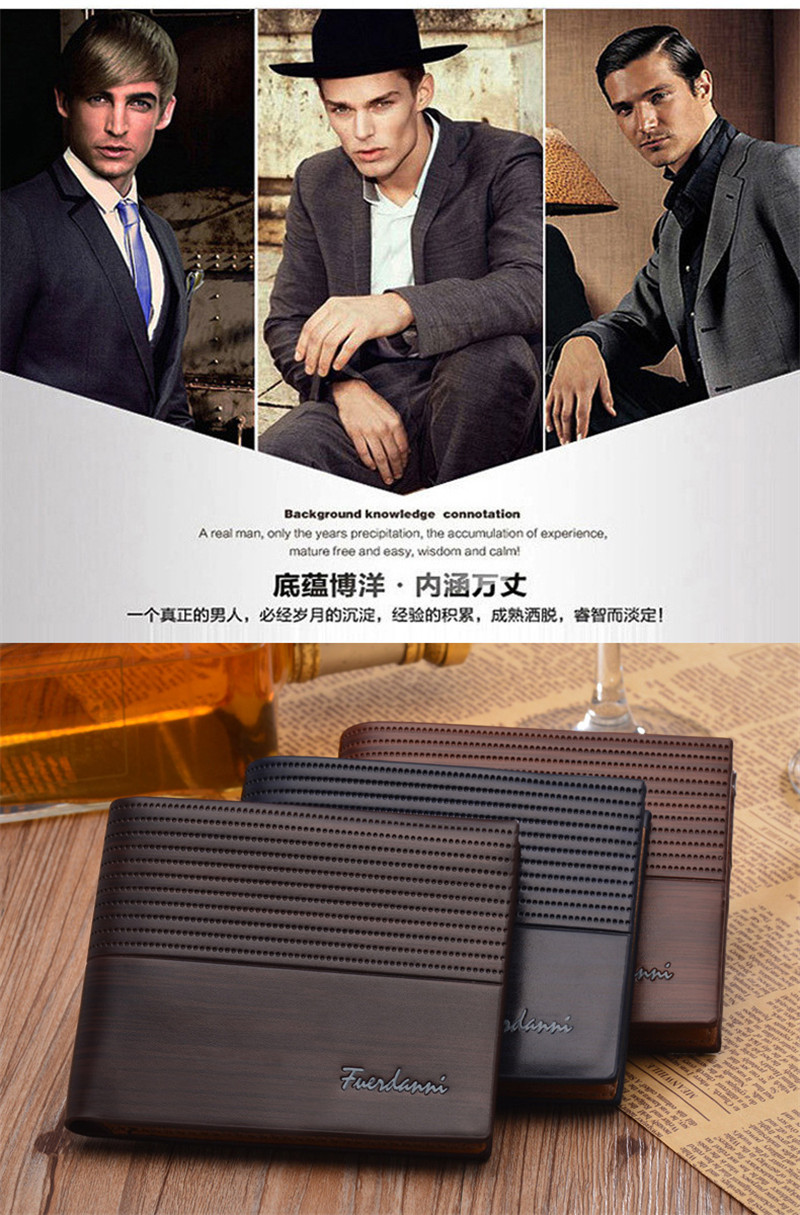 HTB1pt3Cs1uSBuNjy1Xcq6AYjFXa8 Top 2019 Vintage Men Leather Brand Luxury Wallet Short Slim Male Purses Money Clip Credit Card Dollar Price Portomonee Carteria