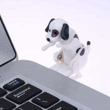 New Mini Funny Cute USB Humping Spot Dog Toy USB Gadgets Humping USB Powered Dog For PC Laptop Gift for Kids