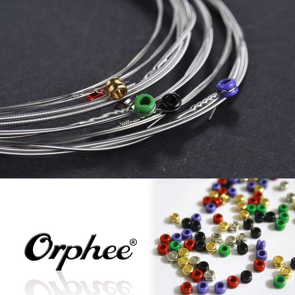buy hot sale orphee electric guitar string 6pcs set hexagonal steel core 39. Black Bedroom Furniture Sets. Home Design Ideas