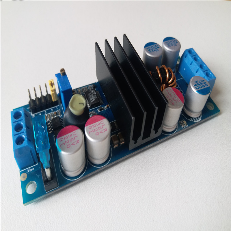 12V 10A Car Laptop Power Supply 2-24VDC input for Adjustable power motherboard LTC3780 ITPS delay Power Solid Capacitor fuse стоимость