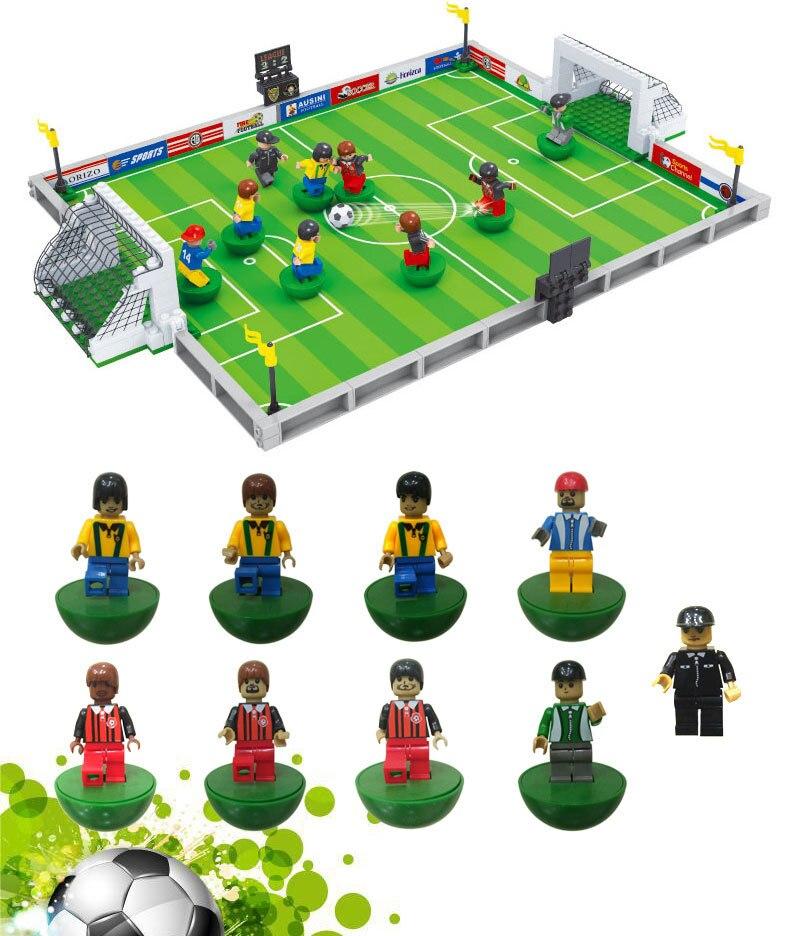 Ausini 25590 251pcs 3D blocks Model building bricks kits toys for children compatible with lego city football series 200