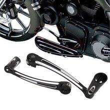Derin Kesim Fren Kol Pedalı Kiti Vites Kolu W/Shifter Peg Seti Touring Harley için Sokak Electra Tri Glide 2008-2013 # MBJ014-ZU