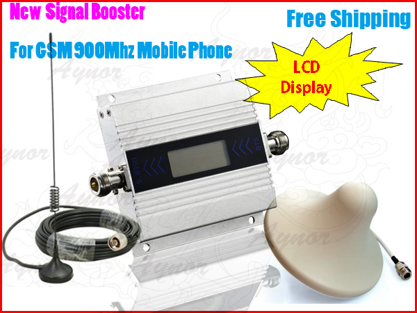1c3bb33fba5b42 Mini GSM 900Mhz Mobile Phone Signal Booster,Cell Phone Amplifier +Car  Antenna+Ceiling antenna,GSM Signal Repeater