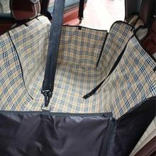 Большой Размеры большая собака, несущая для автомобиля молнии Гамак Собака Автокресло сумка pet коляска-кровать автомобиль Туристические товары собака автомобиля питомник Коврик