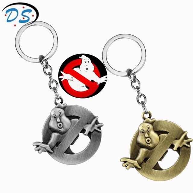 hot rock music band ghostbusters logo pendant keychains vintage rh aliexpress com Hard Rock Band Logos Rock and Metal Band Logos