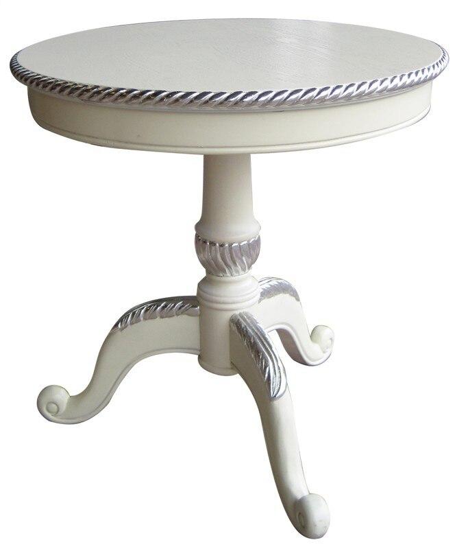 Античная Европейский стиль твердой древесины пастырской Американский Сельский кофе круглый стол круглый углу
