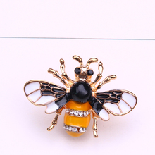 bee brooch cute enamel pins metal insect lapel pin men brooch jewelry gifts brooches for women collar pin цена 2017