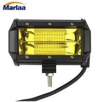 Marlaa Offroad 5INCH 72W LED Work Light Bar Spot Light 12V 24V CAR TRUCK SUV BOAT