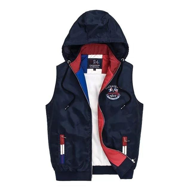 Winter men brand-clothing men warm vest Tace&Shark mens vests outerwear chaleco hombre Jaqueta masculina erkek yelek  S5620