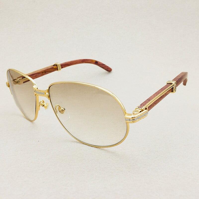 2018 vintage lunettes de soleil hommes luxe bois hommes lunettes de soleil marque designer carter lunettes cadre verre clair surdimensionné lunettes de soleil