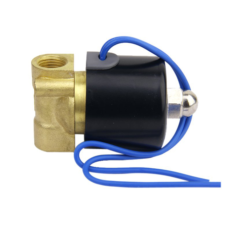 DC 24V 1/4 Inch Directly Driven Electric Solenoid Valve for Air Water driven to distraction