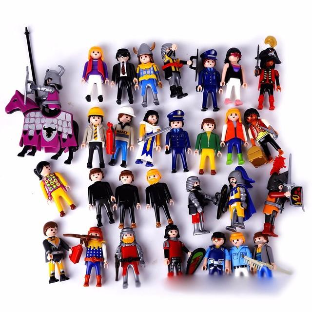 Retro Boy Girl Model Toy