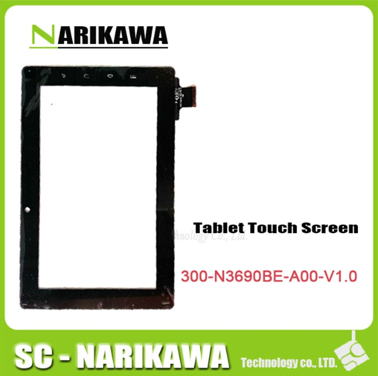 free shipping touch screen digitizer glass touch panel for freelander pd10 pd20 tablet pc code