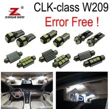 14 шт. x canbus светодиодные лампы Интерьер плафон комплект для Mercedes-Benz CLK Class W209 CLK320 CLK430 CLK350 CLK500 CLK550 (03-09)