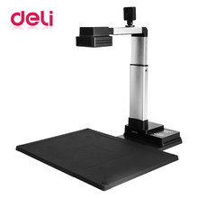 Deli 1pcs HD Visual Presenter 10 million pixels Photo file information certificate picture office continuous fast scanner(China)