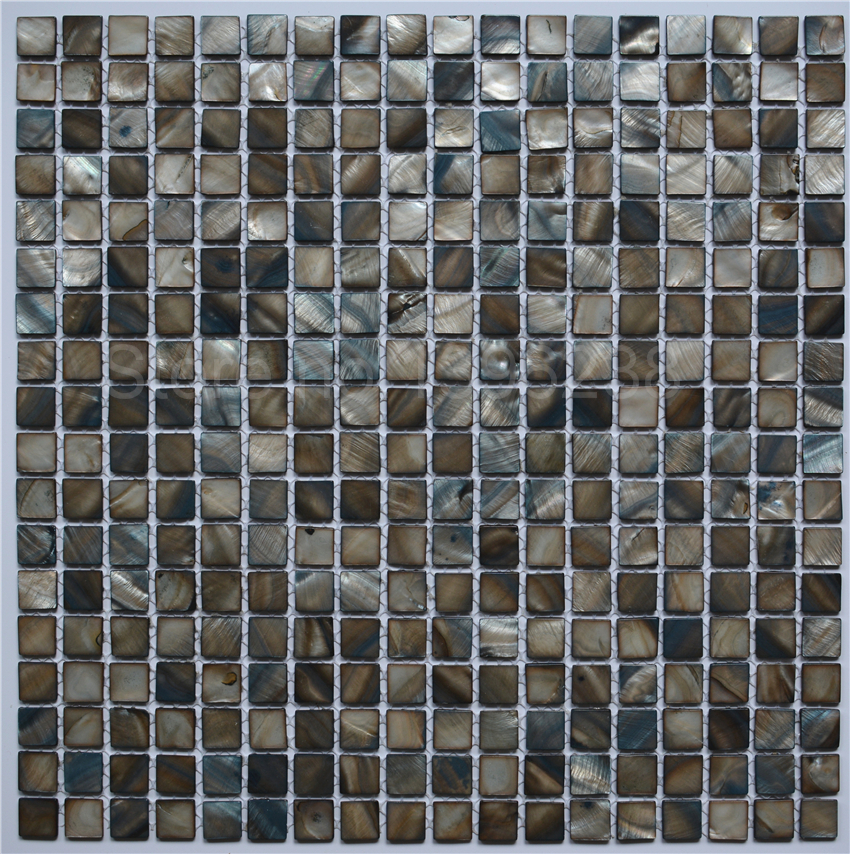 On Sale Shell Mosaic Natural Kitchen Backsplash Mashback Tile Bathroom Shower Wall Background Fireplace Decor Mosaics Lsbk1003