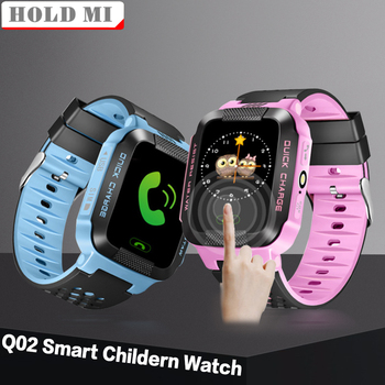 Q02 Y21S Baby Smart Watch With SOS Call Camera Touch Screen Lighting Phone Positioning Location Children Watch for Android IOS