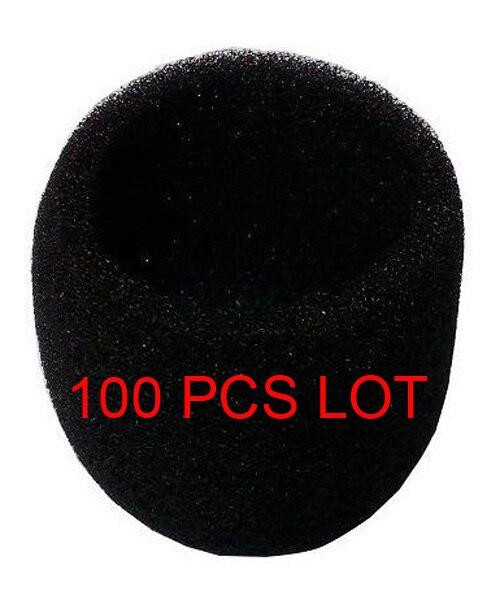 100 PCS Voorruit Schuim (innerlijke) voor Shur SM58S SM58LC BETA58 BETA58A SLX2 Handheld Accessoires, Zwart-in Microfoons van Consumentenelektronica op  Groep 1